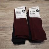 Германия! Мужские высокие носки, лот 6 пар (шт) 39-42 размер