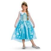 Нове плаття Ельзи Фроузен з короною на 10-12 років з Сша