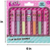 Лот=7шт! Набір блисків для губ L.o.l surprise 7-pack lip gloss, Lol оригінал Mga. Блеск для губ лол