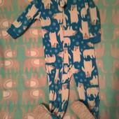 Флисовый комбинезончик,пижама
