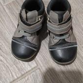 Ботиночки детский, кожа