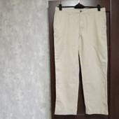 Фирменные новые мужские коттоновые брюки-слаксы р.36-29 на пот-44,5-46 поб-56-57