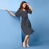 ☘ Стильне легке плаття з пасочком, Tchibo (Німеччина), розміри наші: 46-48 (40/42 евро)