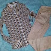 Новая блузка+классные штаны,на S-M