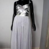 Качество! Шикарное нарядное платье от бренда Little Mistress, в новом состоянии, р.14+-