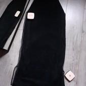 Бомбическая юбка верх сетка фатин низ велюр пэ8 бокам разрезы очень крутая