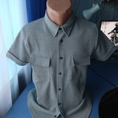Мужская оригинальная рубашка, р.S/M