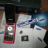 Мобильный телефон с документами, в родной коробке + карта памяти 8 Гб + адаптер в подарок!
