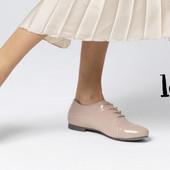 элегантные джаз туфли,оксфорды на шнуровке, кожа лак, loft 37 от Intertek