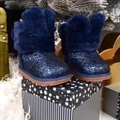тёплые зимние угги зайчики, ботиночки на девочку, новые. распродажа!!! в сезон будут дороже!