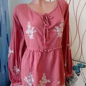 Блуза вышиванка свободного кроя Лоты комбинирую бесплатно смотрите остальные