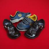 Туфли кроссовки Clarks натур кожа 21-22 разм (1 на выбор)