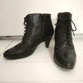 Кожаные ботинки.25см(собирайте мои лоты)