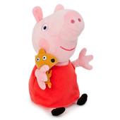 Большая Мягкая игрушка Peppa Pig Пеппа с игрушкой 55-60 см