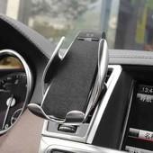 Автомобильный держатель Smart sensor car wireless charger S5