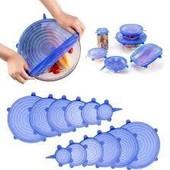 Универсальные силиконовые крышки Super Stretch Silicone Lidsдля