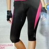 в лоте размер S, Велошорты велобриджи с памперсом Сrivit Германия