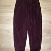 Шикарные велюровые штаники размер 10-12 можно 14