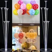 Пластиковая подставка для 7 воздушных шаров.