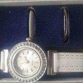 Стильные часы Ив Роше с 3-мя сменными ободками