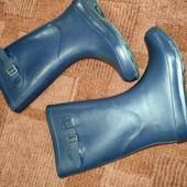 F&f uk 2/ 34р синие резиновые сапожки