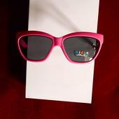 Малиновые солнцезащитные очки, котики, лапки, UV400