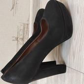 Туфли с натуральной кожи