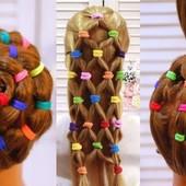 Резиночки для волос. Лот 90шт. Цвета на Ваш выбор