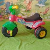 Детский 3 колесный велосипед пластиковый
