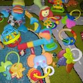 МЕГА лот игрушек погремушек грызунков