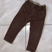 стоп ! ❤ Фирменные коттоновые штаны для мальчика,1-2 года❤ Много лотов!