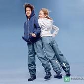 ☘ Дощові штани Tchibo (Німеччина) для активних дітей! Не продуваються, не промокають, р.: 134/140