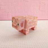 майнкрафт свинья