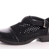 Шикарные туфли с перфорацией