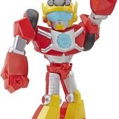 Великий трасформер 26см Хот Шот playskool heroes transformers Hot shot. Оригінал від Хасбро