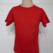 Новинки!Яркие базовые футболки для мальчика, однотонные, 3-8лет,100% коттон.Турция.Отличн. качество❣