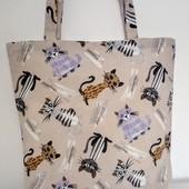 Котики! Красивая Оригинальная практичная сумка!