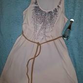 Очаровательное платьице с пайетками,S-L