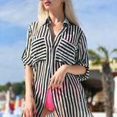 пляжная рубашка. пляжная туника. рубашка пляж