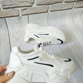 Модные Белые кроссовки женские