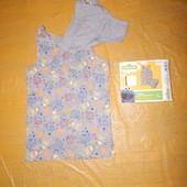 комплект в коробке! р. 122-128 Трусики и майка хлопковая комплект для мальчика, Disney