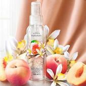 Освежающий лосьон-спрей для тела Белый персик и ванильная орхидея Avon Naturals эйвон