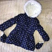 Куртка демисезонная девочке или теплая зима