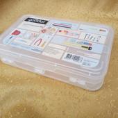 .пластиковый органайзер для мелких деталей(лекарств,пуговиц,концтоваров,инструментов,).gondol Турция