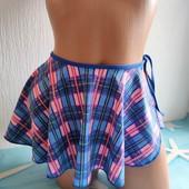 Универсальная пляжная юбочка, замеры в описании