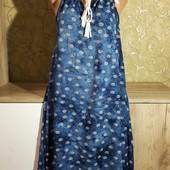 Собираем лоты!!! Легкое платье, размер s-m, 100%вискоза