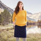 Качественная юбка из плотной ткани с карманами от Tchibo (германия), размер 38 евро=44