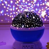 Детский ночник проектор звёздное небо