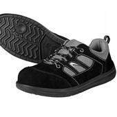 Мужская кожаная защитная обувь powerfix на выбор 37 или 39