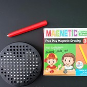 Планшет для магнитного рисования (магнитная мозаика))